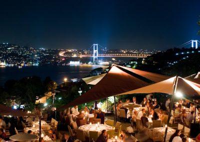 افضل 5 مطاعم لعطله رومانسيه فى اسطنبول