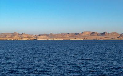 بحيرة ناصر في أسوان