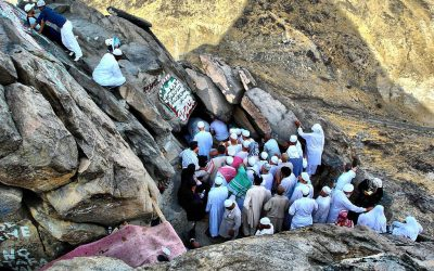 Tour dans la grotte de Hira