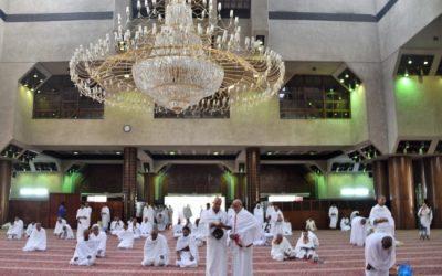 Visite de la mosquée Al-Tanaim