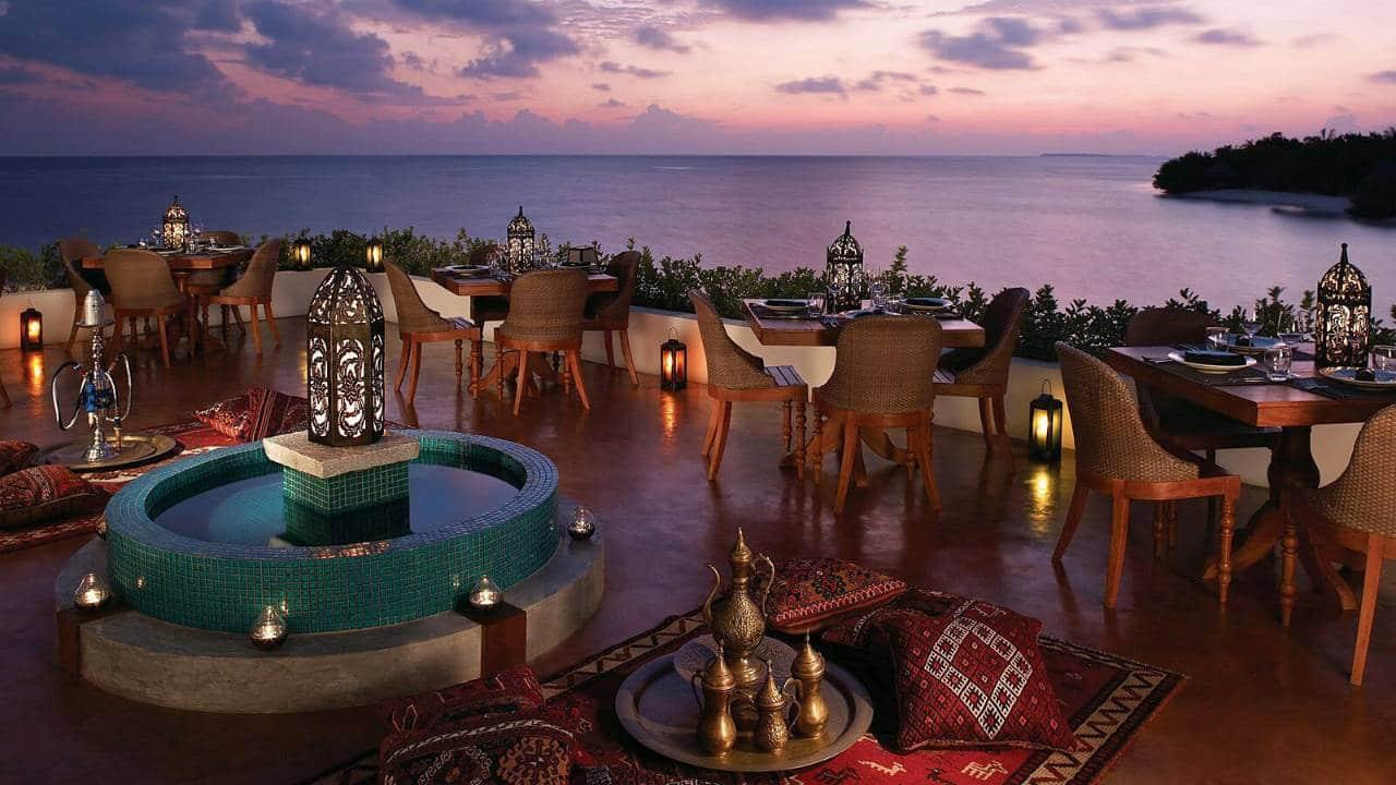 رستوران برکات در مالدیو