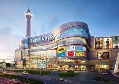 مركز terminal 21 التجارى