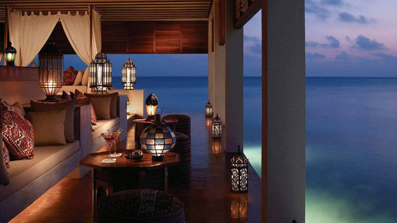 مطعم البركات في المالديف