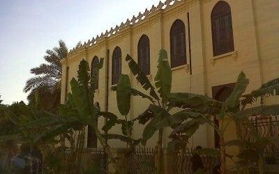 معبد بن عزرا بمجمع الاديان في مصر