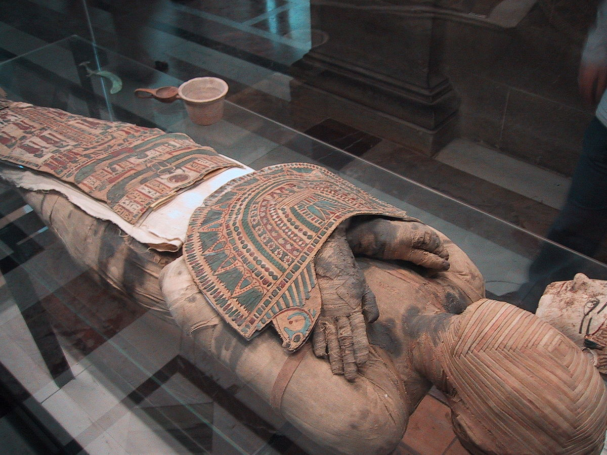 وجود جثمان فرعون