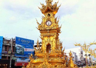 برج الساعه الذهبية فى تشيانغ راى