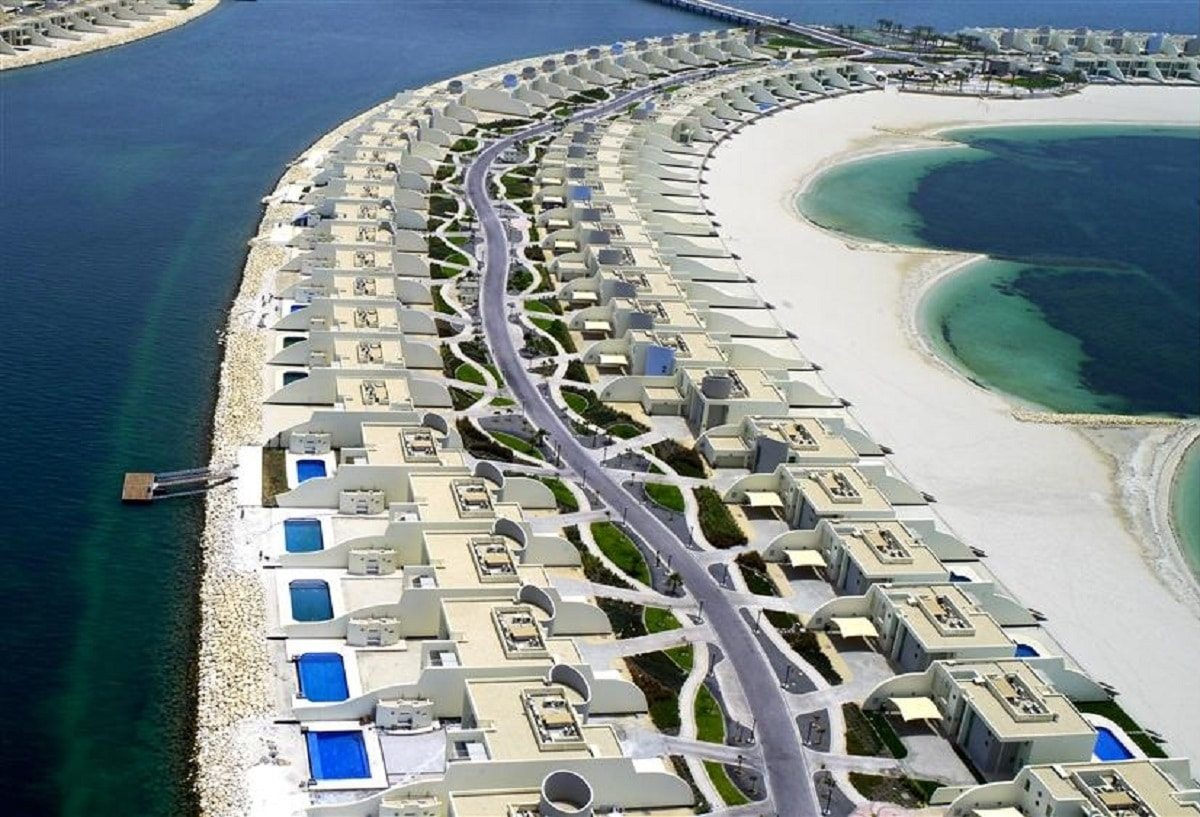 أكبر جزيرة صناعية درة البحرين