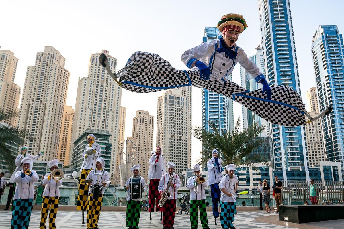 أنشطة في الراحة مول أبوظبي الامارات