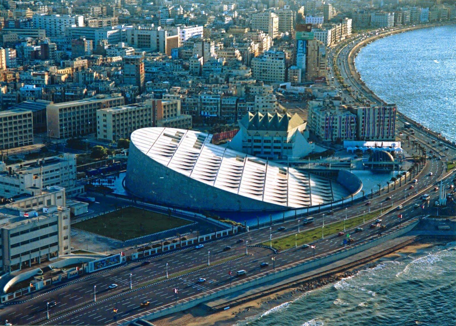 Las mejores actividades en Alexandria Library Egypt