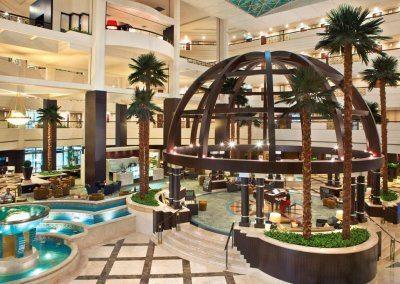 فندق روضة البستان Roda Al Bustan Hotel