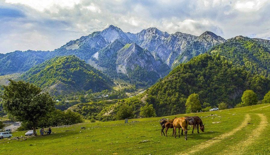 Turismo en Gabala Azerbaiyán