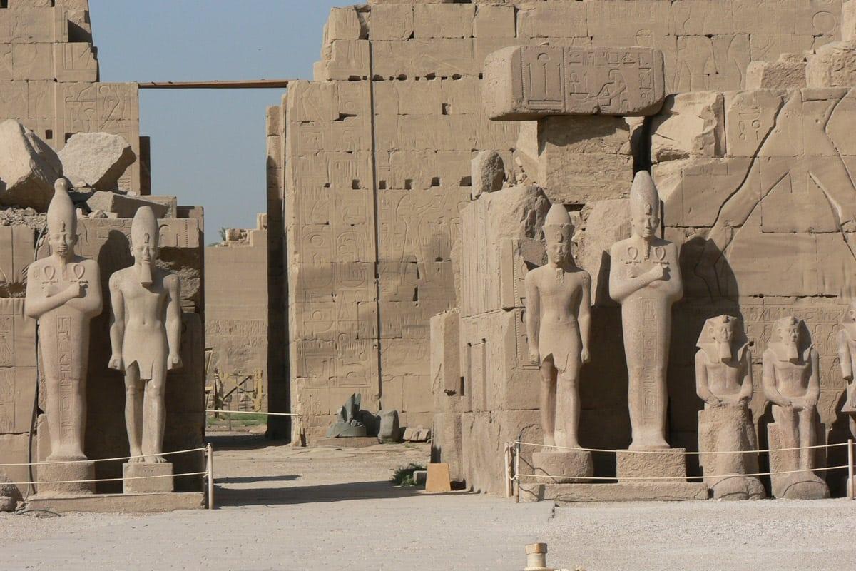 معبد امون الاقصر