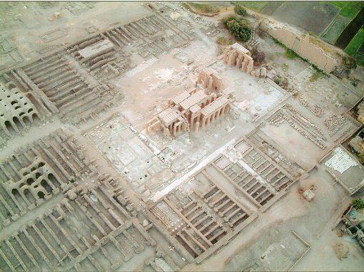 معبد الرامسيوم الأقصر