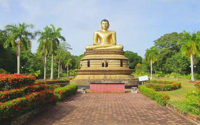 Taman Viharamahadevi di Sri Lanka