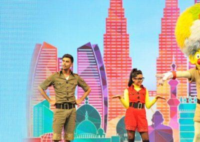 اهم الانشطه في القرية العالمية دبي