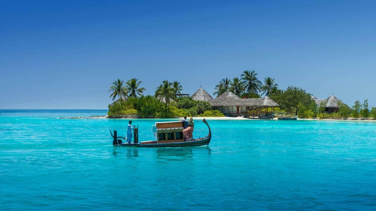 몰디브의 코다 후라 스파 여행