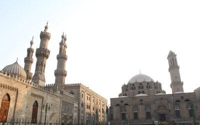 مسجد ومدرسة وتكية محمد بك أبو الذهب في القاهرة