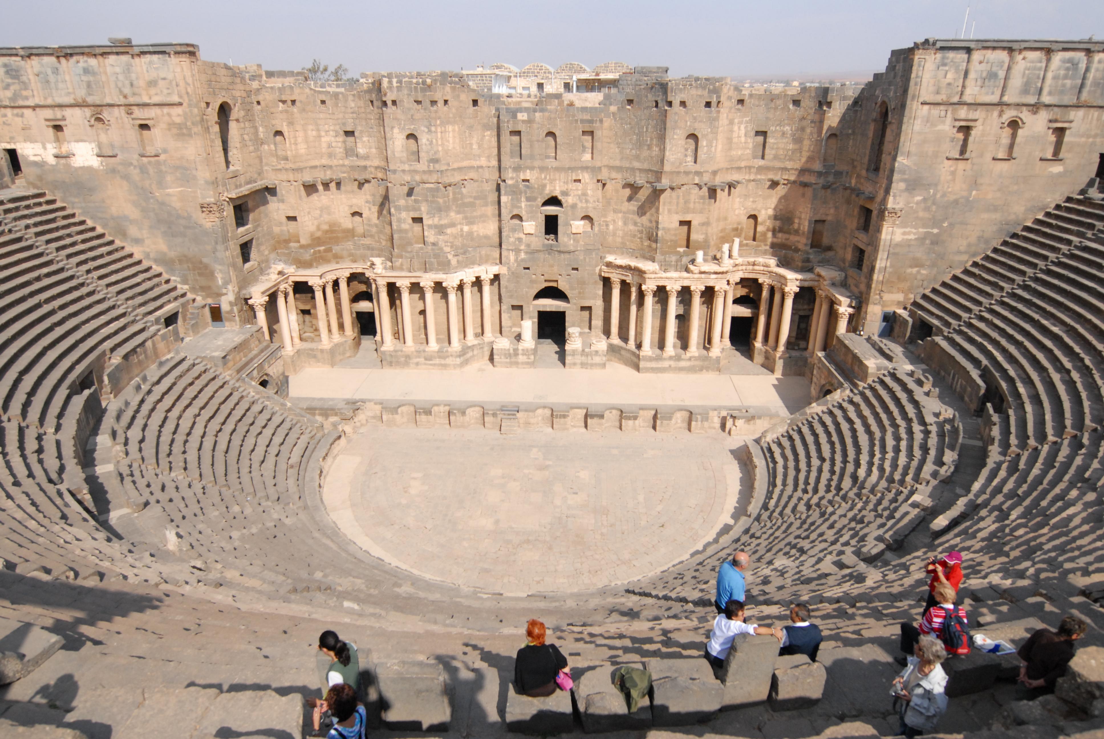 أنشطة في المسرح الروماني بالاسكندرية مصر