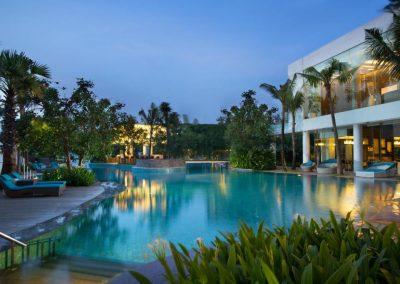 دابل تري باي هيلتون Double Tree by Hilton Jakarta