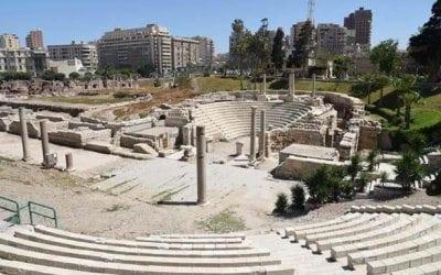 المسرح الروماني في الاسكندرية