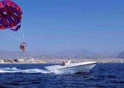 البارشوت المائي في دبي الامارات | اهم الانشطة الترفيهيه فى الباراشوت المائى دبى