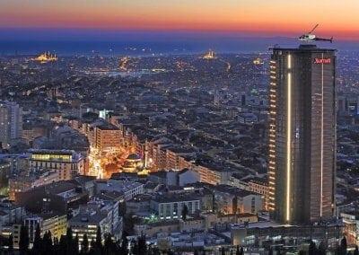 فندق ماريوت اسطنبول شيشلي