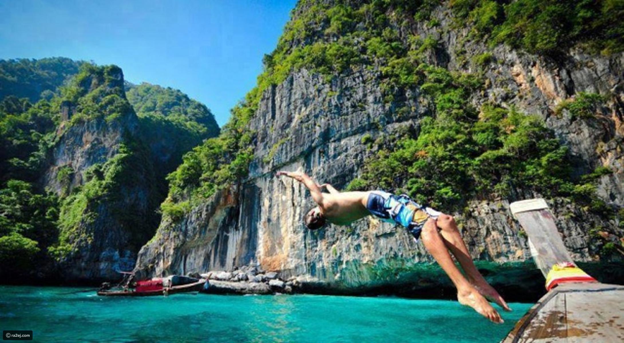 شلال بانغ باى تايلاند