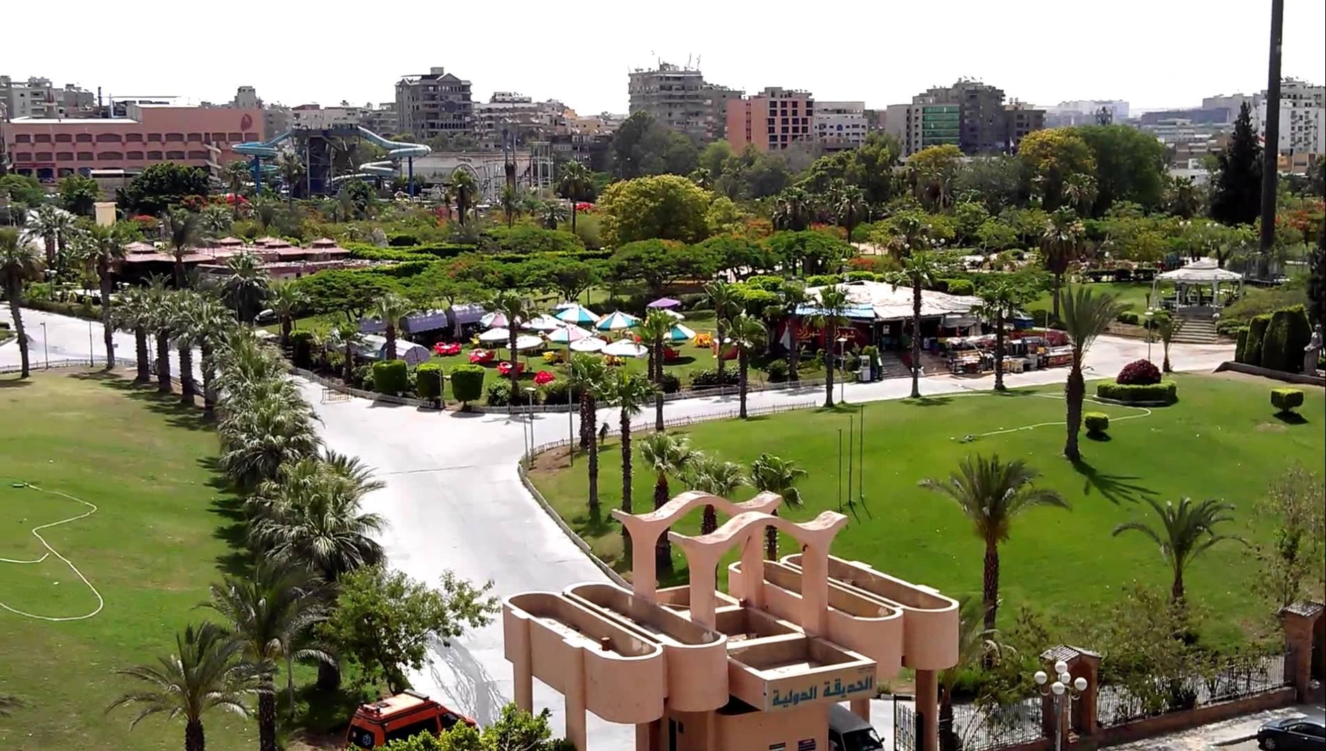حديقه الفسطاط مصر