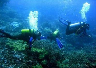 جزيرة بولاو تينجول في ماليزيا