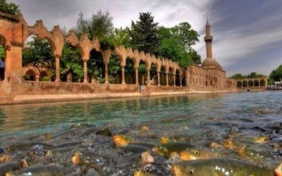 Tourism in the city of Shanli Urfa 2018