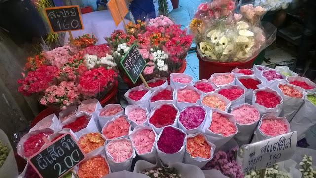 افضل الانشطة فى سوق الزهور في بانكوك فى تايلاند | سوق الزهور فى بانكوك