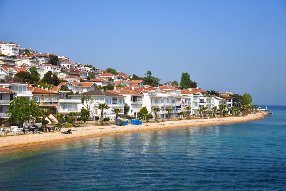 جزيرة الاميرات تركيا
