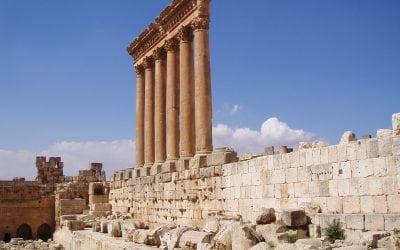 木星Baalbek寺庙