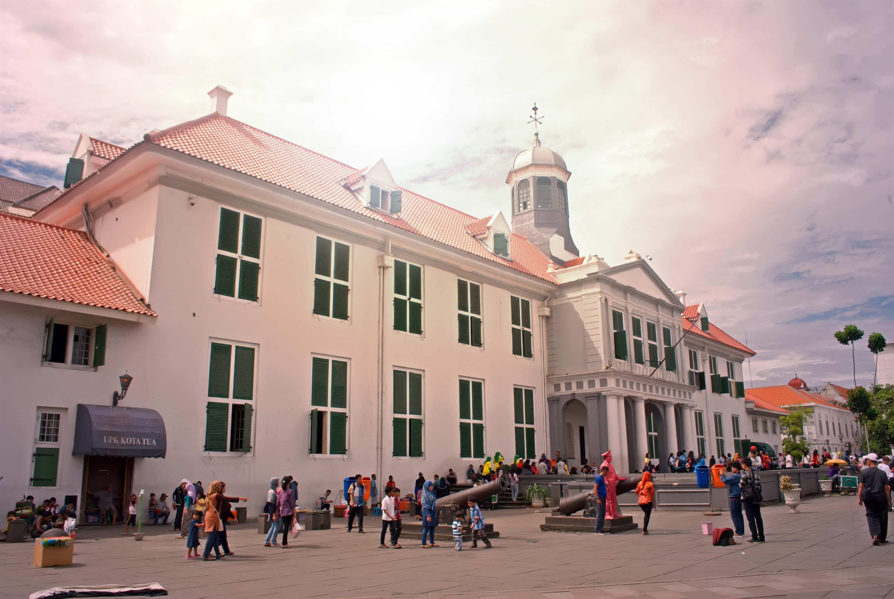 متحف التاريخ بمدينة جاكرتا