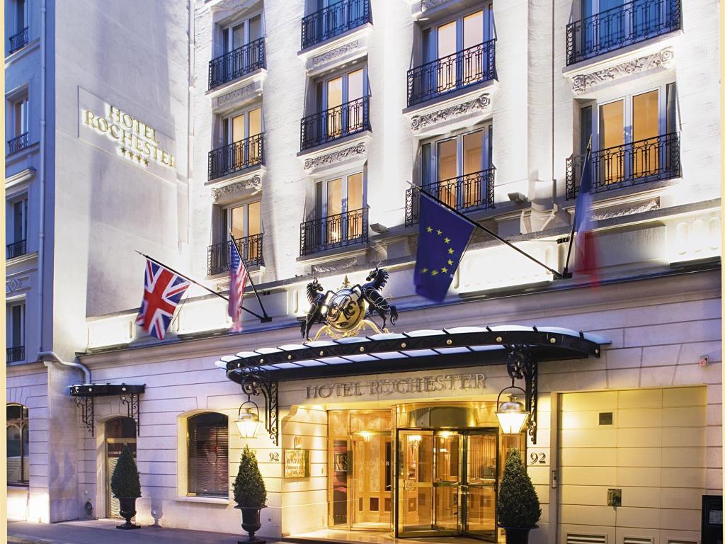 تعرف علي فندق كاليفورنيا باريس