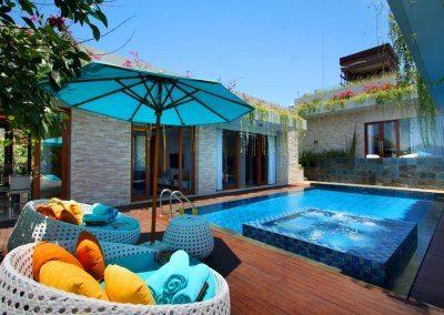 ناغيسا بالي باي فيو فيلاس Nagisa Bali Bay View Villas