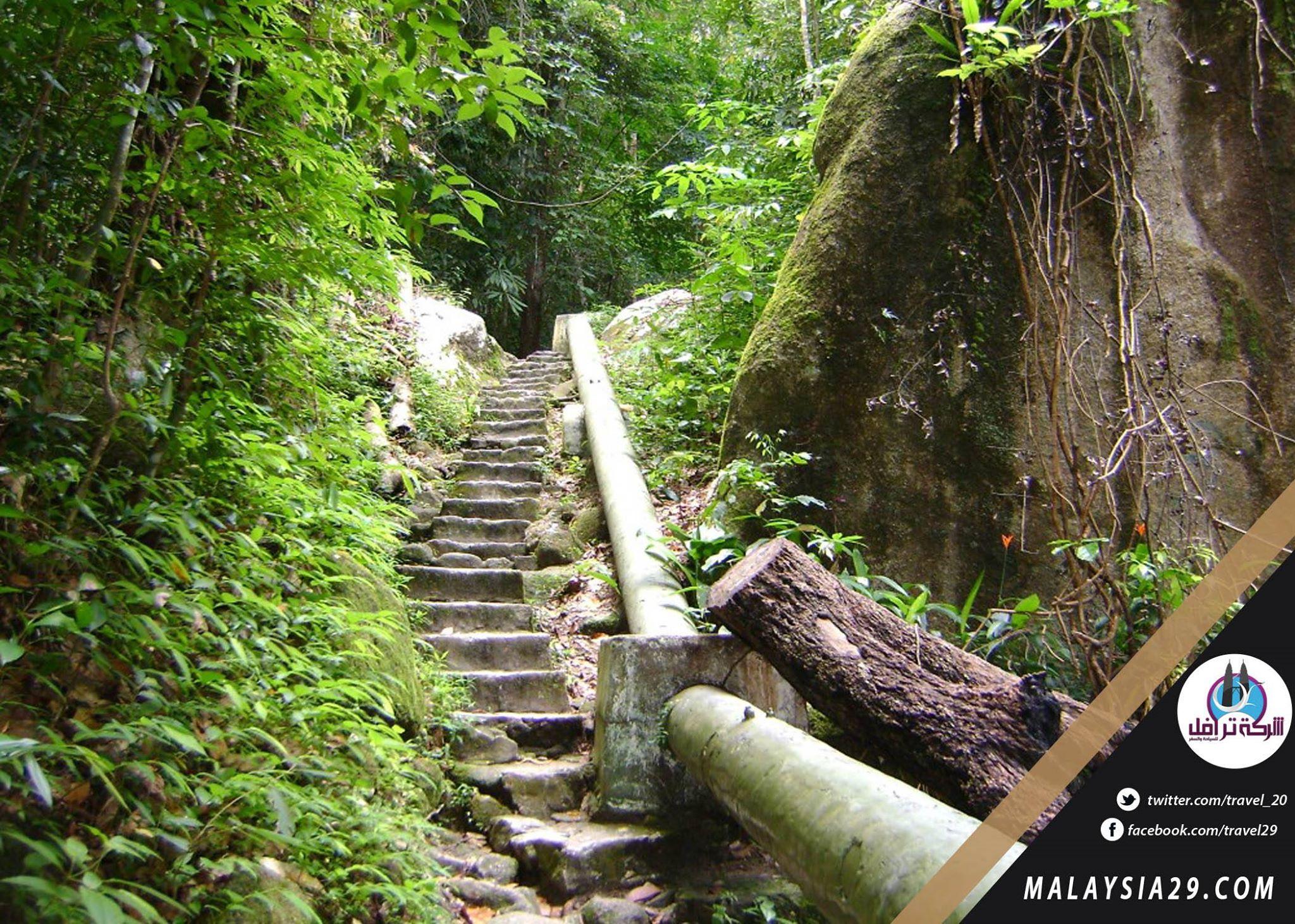 شلالات جزيرة بينانج