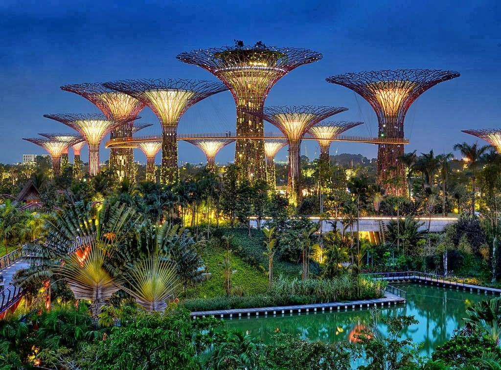 حدائق الخليج في سنغافورة | اهم الانشطة السياحية في حدائق الخليج في سنغافورة
