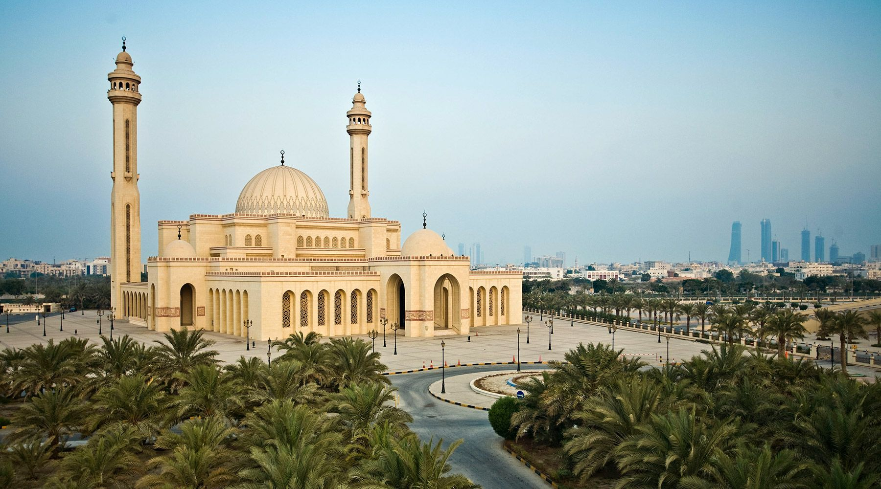 Al Fateh Mosque in Bahrain