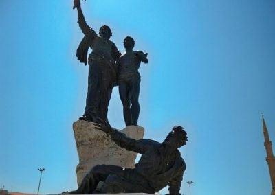 تمثال الشهداء فى بيروت لبنان