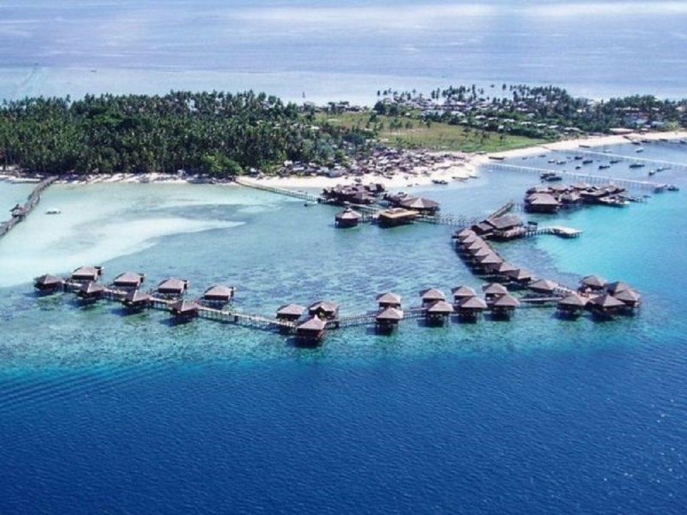 جزيرة سيبادان في ماليزيا