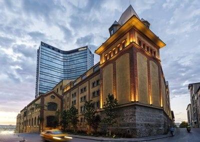 هيلتون إسطنبول بومونتي Hilton Istanbul Bomonti