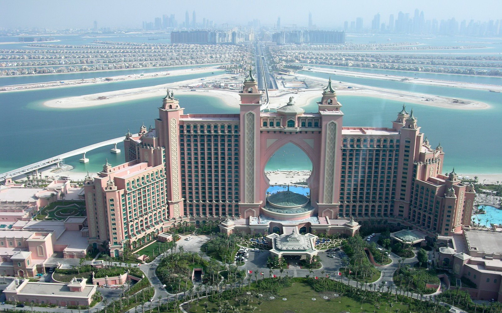 الجمال في مدينة جميرا في دبي