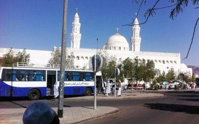 遊覽清真寺的Qiblatin