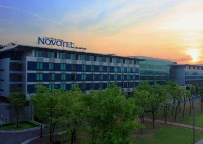 نوفوتيل سوفارنابومي إيربورت Novotel Suvarnabhumi Airport