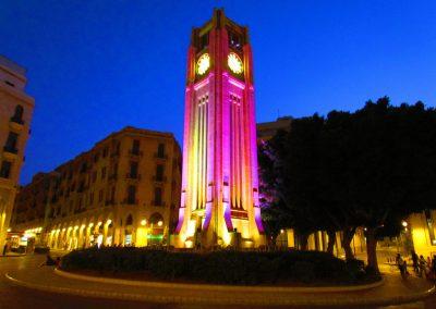 برج الساعه الحميدية بيروت