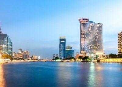 ميلينيوم هيلتون بانكوك  Millennium Hilton Bangkok