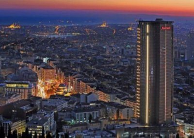 فندق ماريوت اسطنبول سيسلي