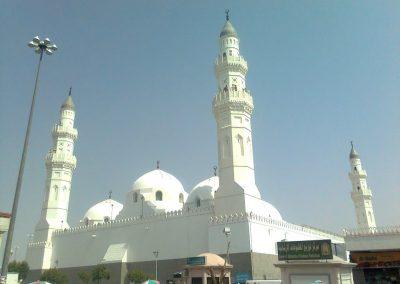 جوله فى مسجد قباء