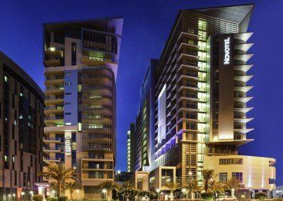 فندق نوفوتيل البستان أبوظبي Novotel Abu Dhabi Al Bustan Hotel